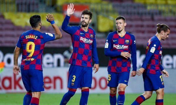 Barcelona e rrëzon nga La Liga Espanyolin, i afrohet në vetëm 1 pikë Real Madridit