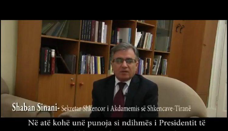 Shaban Sinani: Abaz Gjuka nuk fliste shumë, por vepronte  (VIDEO)