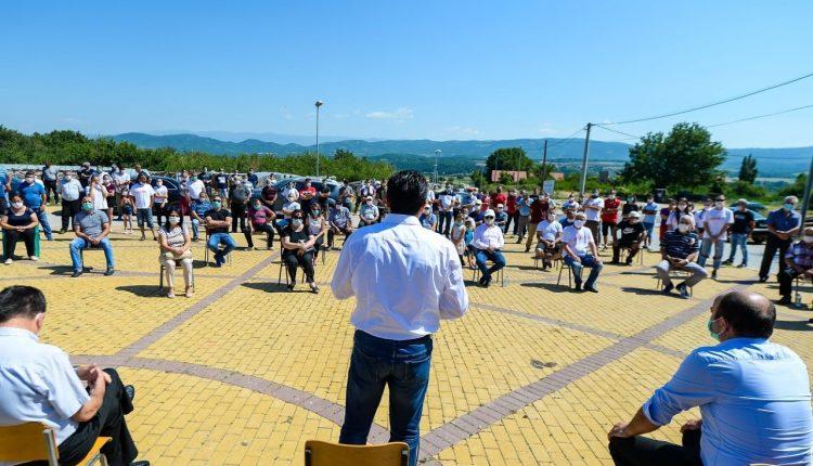 Zaev në Konçe: Më 15 korrik votoni për më shumë para për bujqit dhe kujdes më të madh për të gjithë