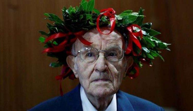 96-vjeçari, studenti më i vjetër i Italisë