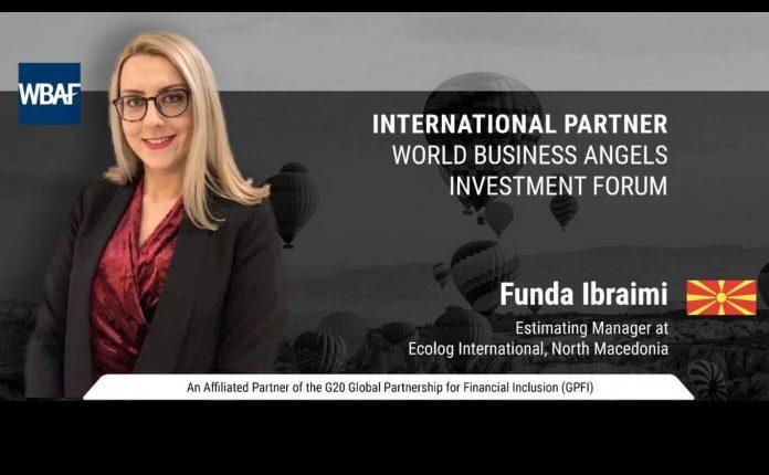 Funda Ibraimi nga Tetova, përfaqësuese në Forumin Botëror të Investimeve