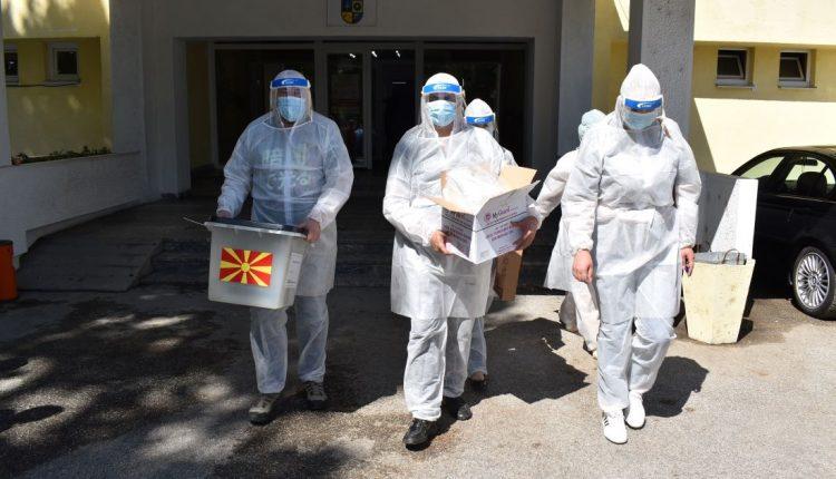 Në Strumicë votojnë personat pozitivë në Kovid-19 dhe personat në vetizolim