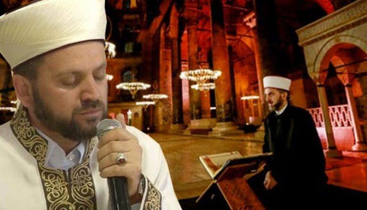 Erdogan zgjedh imam nga Ballkani për Hagia Sophia-n