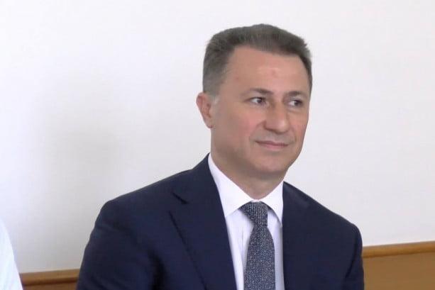 Gruevski: Nuk kthehem në politikë!