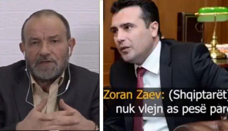 Ofendoi shqiptarët, Seladin Xhezairi Zaevit: Jazëk