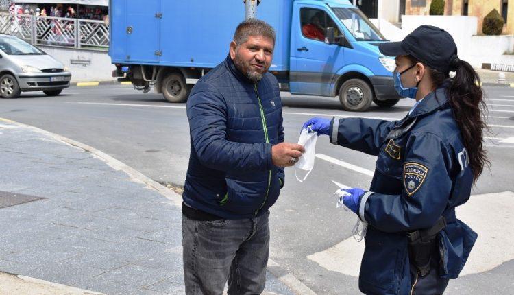 Policia ka regjistruar 357 shkelje për mosmbajtje të maskave