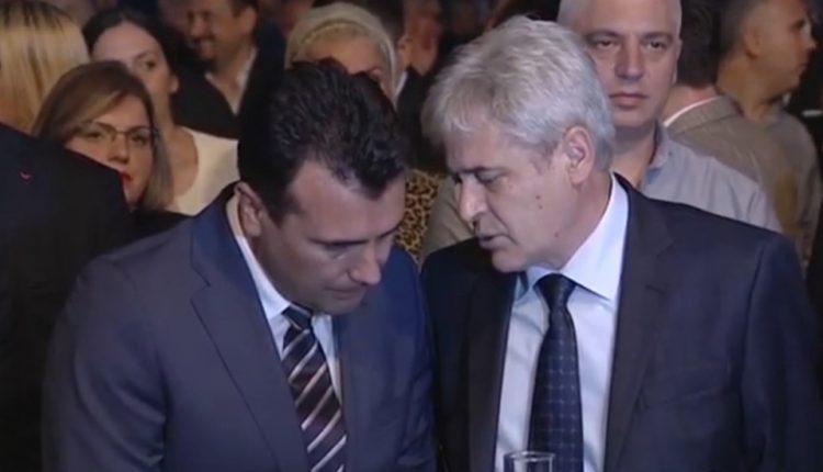 Zaev: E di që Ali Ahmeti nuk frigohet e as nuk varet nga Gruevski (2015)