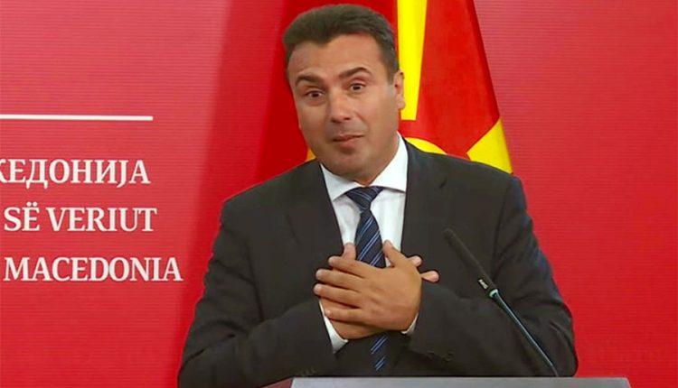 """""""Njeriu ka gabuar, nuk pi alkool"""", tha Zaev, pas deklaratës së Ali Ahmetit se lideri i LSDM-së pas 2-3 gotave me raki në mitingje flet gjithçka, pastaj pendohet për ate që ka thënë!"""