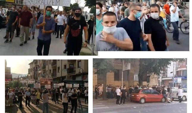 Protestuesit kanë vërshuar rrugët e gjashtë qyteteve të Maqedonisë së Veriut