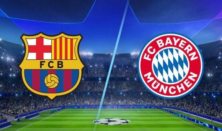 Bayerni e shkatëron Barcelonën, e mposhtë me rezultat 8 me 2