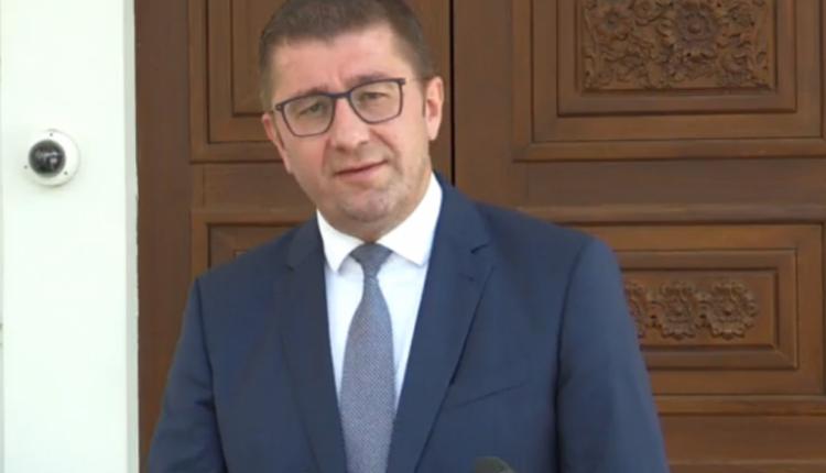 Mandati për formimin e qeverisë, Mickoski: Është shkelur Kushtetuta