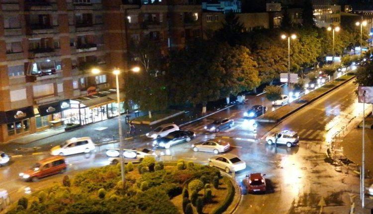 Tre aksidente në rajonin e Tetovës, disa të lënduar