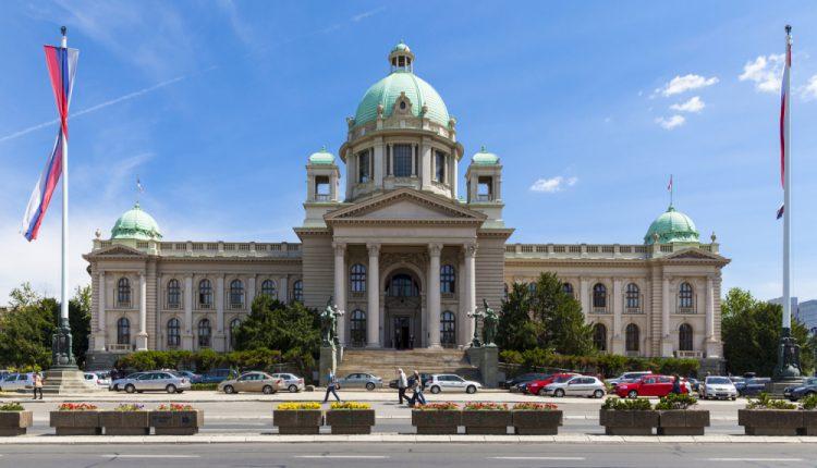 Mbledhje konstituive e Parlamentit serb