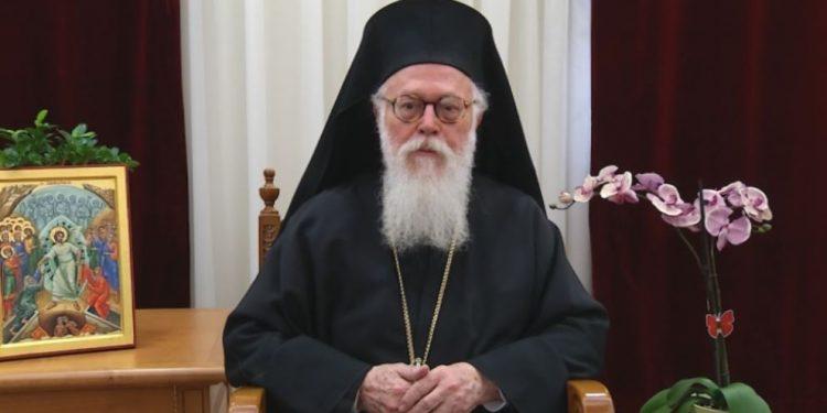 Janullatos mbush 28 vite në krye të Kishës Orthodhokse Autoqefale të Shqipërisë