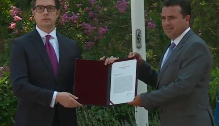 Mandati për formimin e Qeverisë së re, në duart e Zoran Zaevit