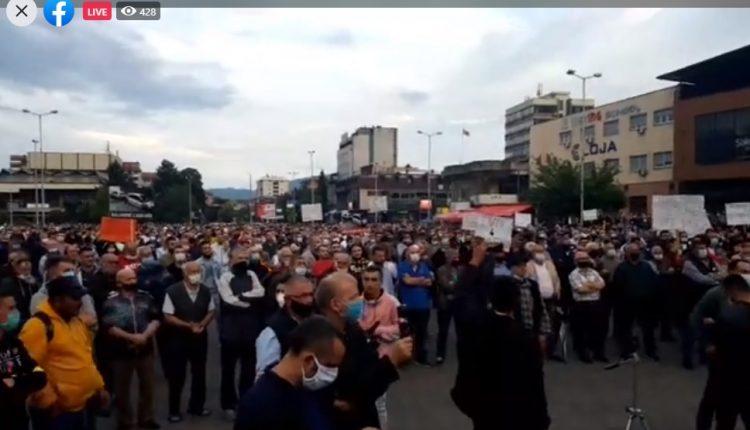 Tetovë, ja kërkesat e protestuesve kundër rritjes së rrymës elektrike