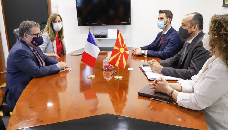 Ambasadori Timonie në takim lamtumirës te zëvendëskryeministri Bytyqi