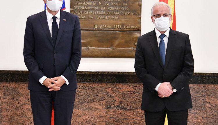 Xhaferi takon presidentin slloven Pahor