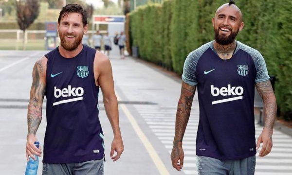 """Mesazhi enigmatik i Messit pas largimit të Vidal: """"Do të jemi sërish së bashku, sigurt"""""""