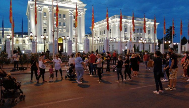 Protesta e dytë e nënave në pushim të lindjes dhe e prindërve të fëmijëve deri gjashtë vjeç