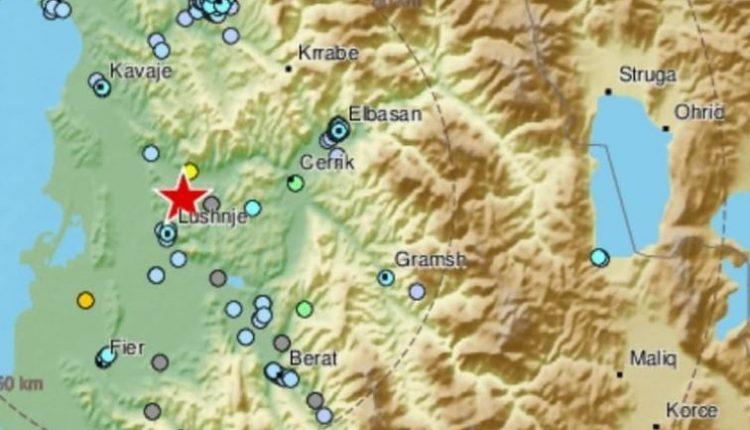 Ndihen dridhje toke në Maqedoni