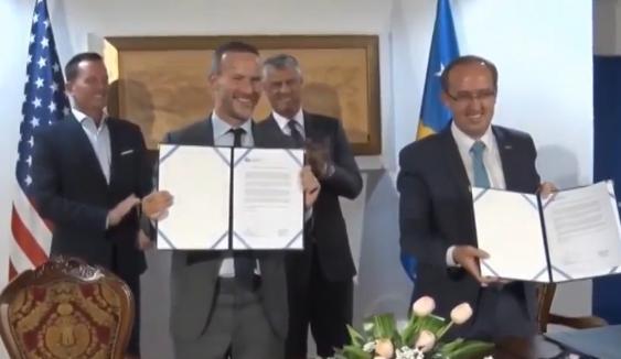 Kjo është marrëveshja që Hoti sot nënshkroi me delegacionin amerikan