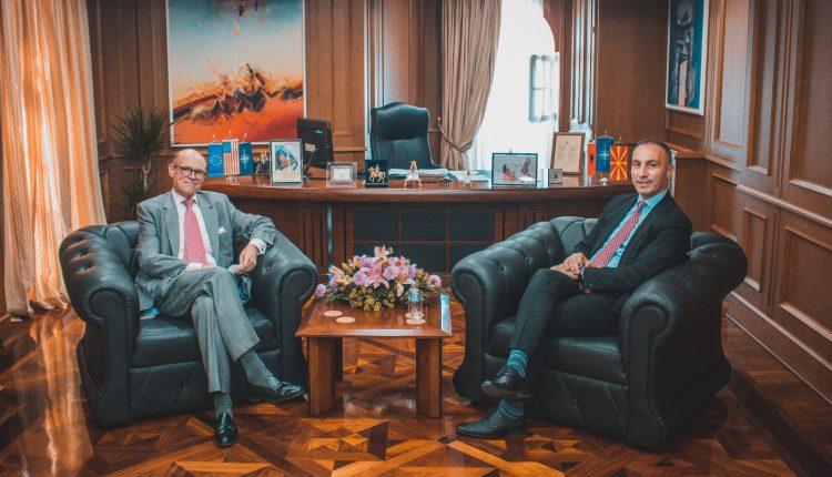Grubi-Bjornstad diskutojnë për zhvillimin e zonës së lirë ekonomike të Tetovës