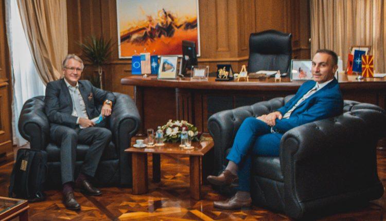 Grubi-Nygaard: Fondi Investues Shtetëror Norvegjez mbështet Zonën e Lirë Ekonomike në Tetovë