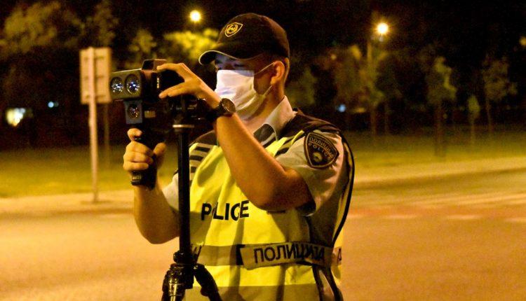 Në Shkup sanksionohen 339 shoferë