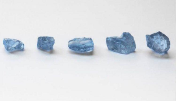 Afrikë/ E rrallë, gjenden pesë diamante blu