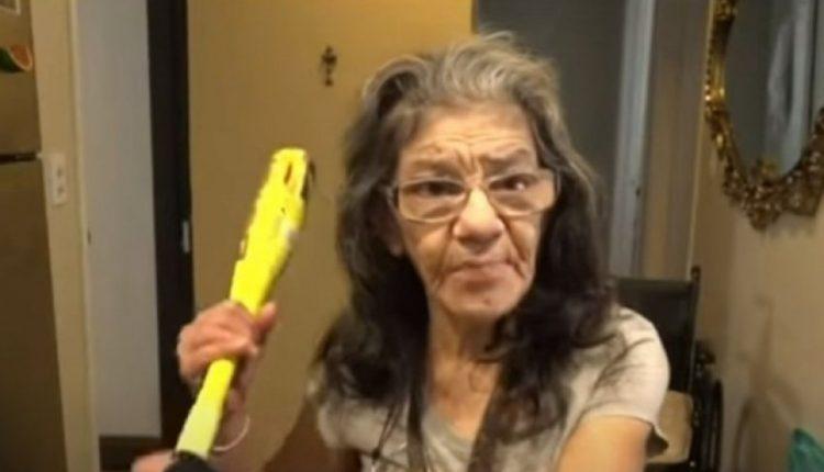 Hajduti përplaset me gjyshen e tij, nuk e dinte se ajo ishte mjeshtre e arteve luftarake (VIDEO)