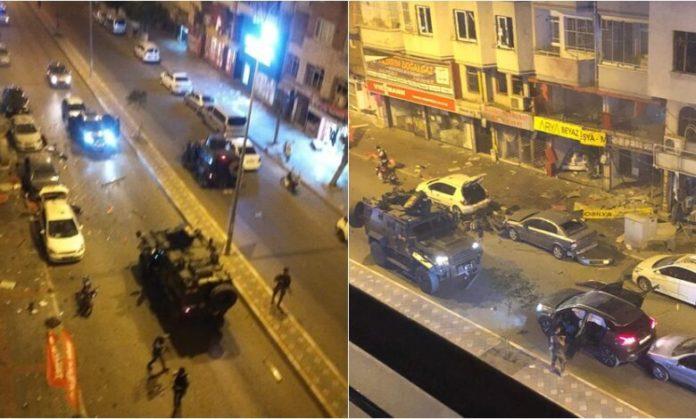 Shpërthim i fuqishëm në Turqi