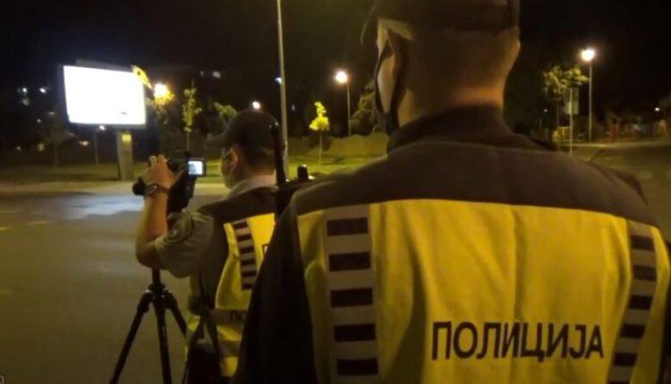 Sanksionohen 301 shoferë në Shkup, 69 për vozitje të shpejtë
