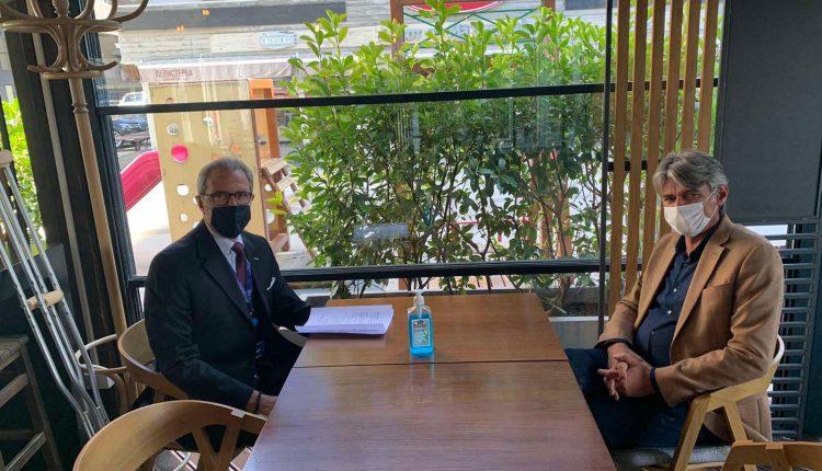 Kryetari i ASH Ziadin Sela takoi shefin e Misionit të OSBE Ambasadorin Klemens Koja