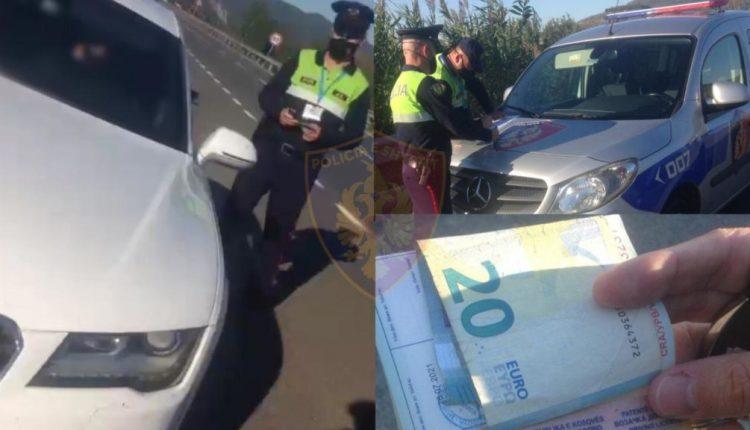 I dha 20 euro policit në Shqipëri, arrestohet 28 vjeçari nga Kosova