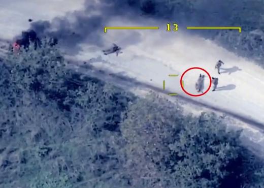 Vritet ministri i Mbrojtjes, gjithçka filmohet me dron (VIDEO)
