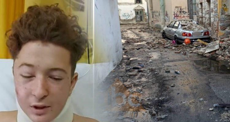 Flet babai i shqiptarit që u plagos nga tërmeti në Greqi: Na ra si bombë, e shpëtuan shokët