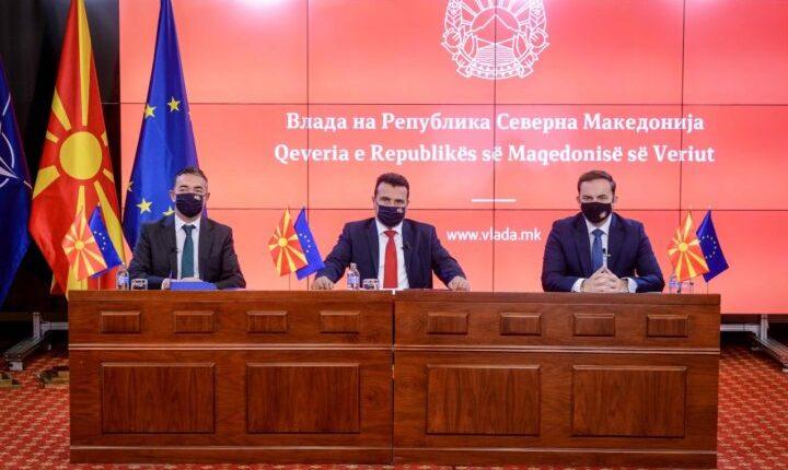 Zaev, Dimitrov dhe Osmani në takim onlajn me Borrellin: Fillimi i bisedimeve do të jetë sinjal pozitiv edhe për rajonin