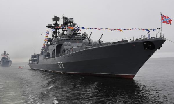 """Marina ruse kërcënon me përplasje luftanijen e SHBA """"John McCain"""", pranë kufirit detar në Vladivostok"""