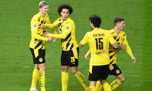 Haaland me poker në fitoren e Dortmundit kundër Herthas (VIDEO)