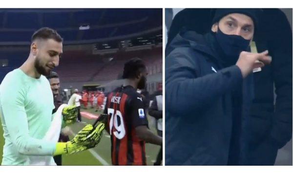 Telefonata me Piolin dhe Ibrahimovic trajner në tribunë, pamje nga festa e lojtarëve të Milanit