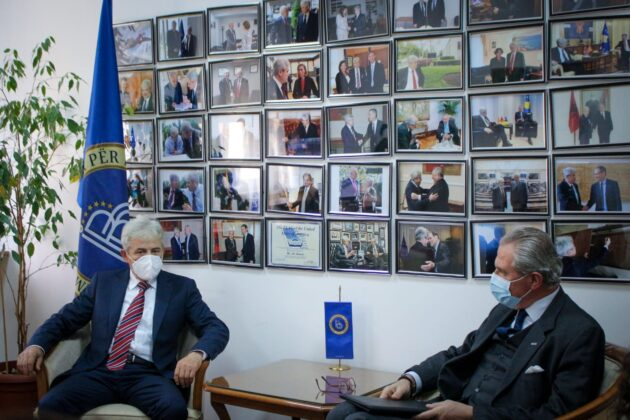 Ali Ahmeti pret Ambasadorin e OSBE-së, Klemens Koja