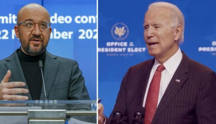 Kreu i KE-së, Michel fton Biden në samitin BE27