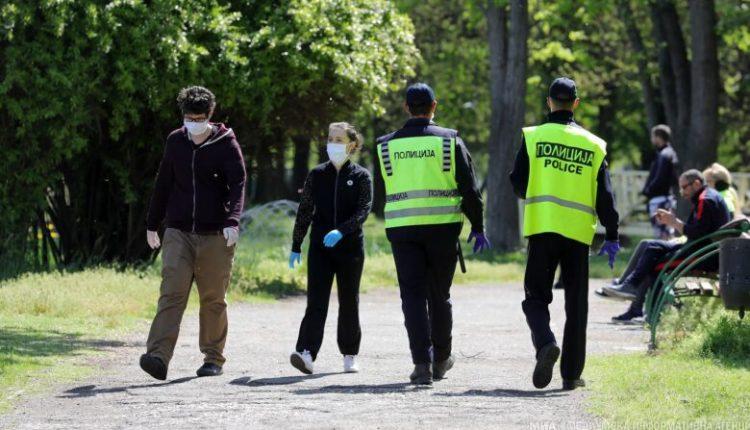 Regjistrohen 597 shkelje për mosmbajtje të maskës mbrojtëse