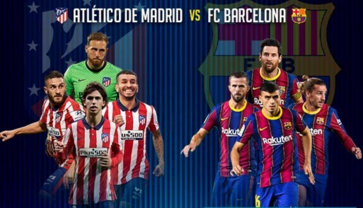 La Liga/ Atletico pret Barcelonën, ja formacionet e mundshme