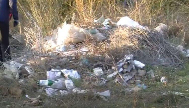 """Qyteti i Ohrit, i """"zhytur"""" në mbeturina"""