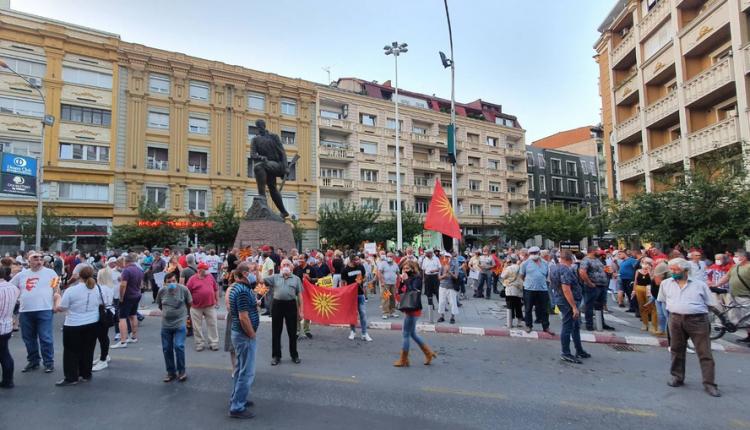 VMRO-DPMNE sot do të protestojë në shtatë qytete