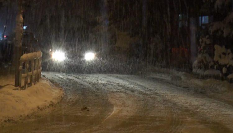 Prag dimri, reshjet e para të borës në Dardhë