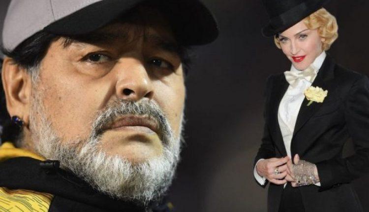 Në Australi njerëzit menduan që ka ndërruar jetë Madona dhe jo Maradona