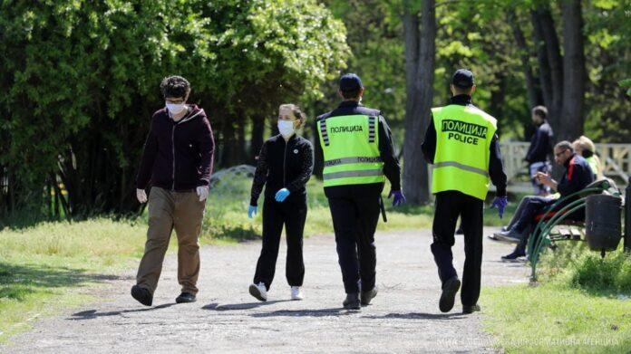 Regjistrohen 549 shkelje për mosmbajtje të maskës